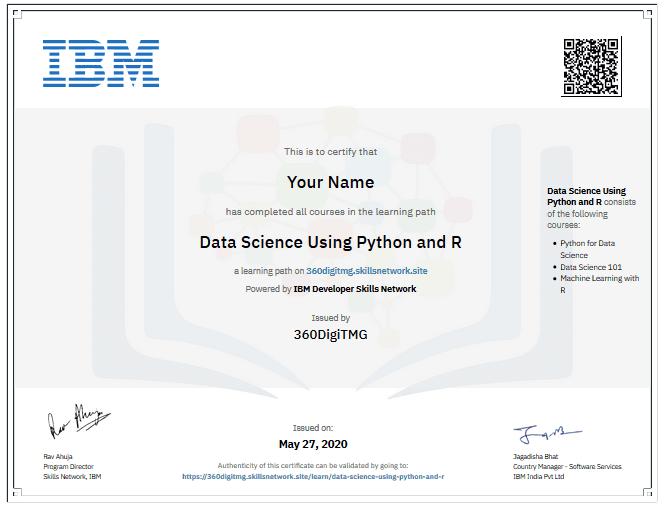 data science certificate course in penang - 360digitmg