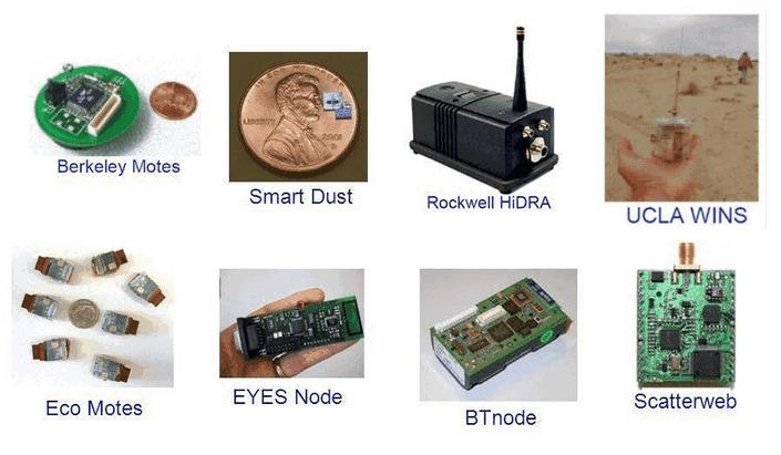 nodes in smart sensor IoT