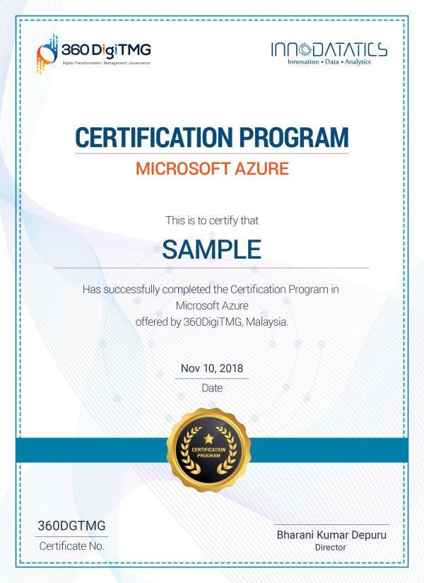 microsoft azure course certification - 360digitmg