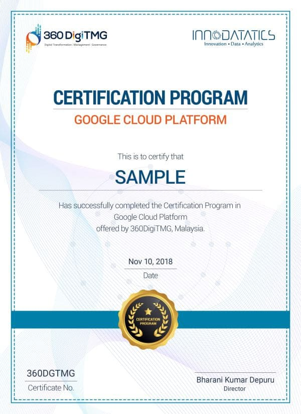 google cloud platform course certification - 360digitmg