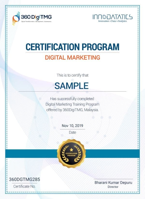 rpa course certification - 360digitmg